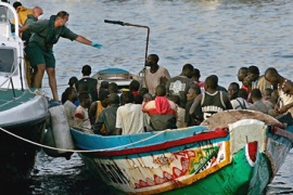 Canary Islands face migrant crisis