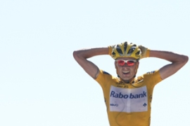 The Dane feels his expulsion from the Rabobank team was a punishment way out of proportion [AFP]