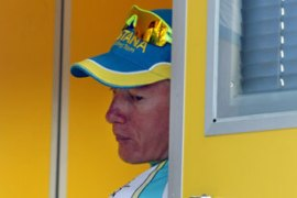 Vinokourov faces a two-year ban from cyclingand also risks losing a year's wages [AFP]