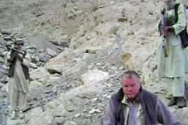 Under the shadow of Taliban guns, Rudolph B is seen urging Germany and the US to withdraw troops