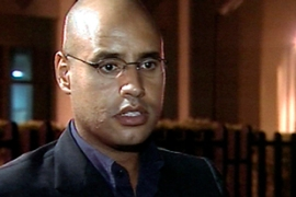 Saif al-Islam has admitted that Libyan investigations were not carried out in a professional manner [AP]