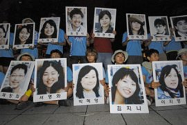 The South Koreans, a group of church volunteers, have been held since July 20 [AFP]