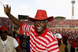 Koroma has won 54.6 per cent of the vote [AFP]