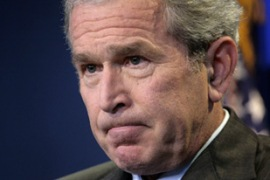 Bush said if al-Maliki thought Iran was constructive, he would have a heart-to-heart with him [Reuters]