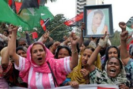 Bhutto still has supporters in Pakistan [EPA]