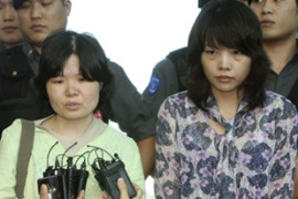 Two hostages returned to South Korea after being freed by the Taliban on Monday [Reuters]