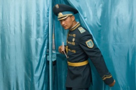 Kazakhstan has never held a poll considered free and fair by international observers [Reuters]