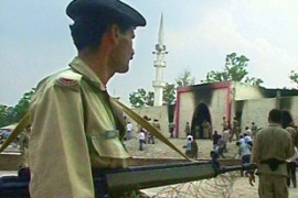 Pakistani soldiers have been repeatedly attacked bypro-Taliban fighters since July's Red Mosque siege [AP]