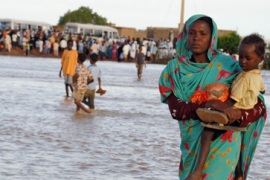 Thousands suffer in Sudan floods