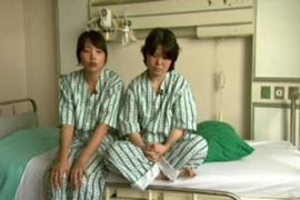 Kim Jee-na, left, and Kim Kyung-ja said they werenot treated badly by the Taliban