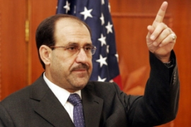 Al-Maliki singled out Democratic senators Hillary Clinton and Carl Levin for attack [AFP]