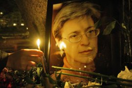 Anna Politkovskaya's killing sparked international outrage [AFP]