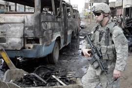 The report will bolster Bush critics who say US policy in Iraq has failed [EPA]