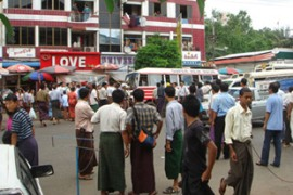 Soaring fuel prices have sparked rare public protests across Myanmar [www.dvb.no]