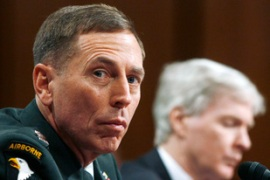 General David Petraeus made his recommendation to congress earlier this week [Reuters]