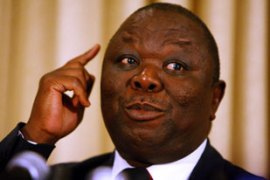 Members of Morgan Tsvangirai's Movement for Democratic Change strongly opposed the bill [AP]