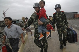 More than two million were evacuated as the storm neared China's eastern coast [Reuters]