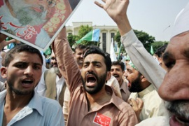 The opposition had been holding anti-Musharraf protests [AFP]