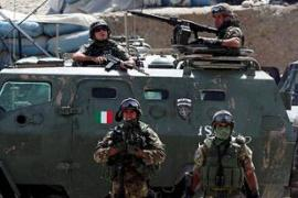 Italy has about 2,000 soldiers in Afghanistan as part of the International Security Assistance Force [EPA]