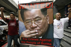The crackdown in Myanmar has sparked condemnation around the world [Reuters]