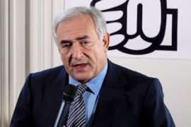 "Strauss-Kahn said he intends to pursue reforms ""without delay"" [File: EPA]"