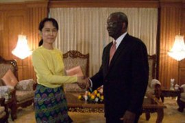 Gambari was allowed to meet Suu Kyi twice on his previous trip last month [UNIC Yangon]