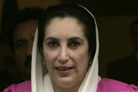 Bhutto plans to return to Pakistan within weeks [AFP]