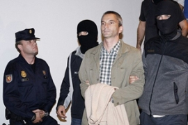 Spanish police arrested Joseba Permach and 22 Batasuna party members on Thursday [AFP]