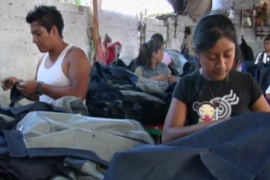 Chinese jeans leave Mexico blue