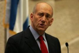 Olmert said the current Palestinian leadership was serious about reaching a deal [AFP]
