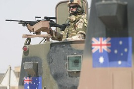 The election will determine the future of Australia's military contribution in Iraq [EPA]