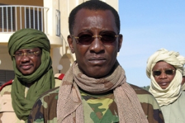 President Deby is accused of ordering attacks on rebel groups in Chad [AFP]