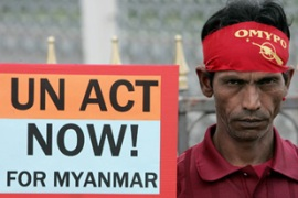 The US is pushing for additional sanctions against Myanmar's military government
