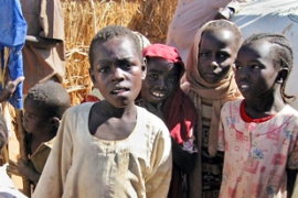 About 2.5 million people have been forced from their homes in four years of the Darfur conflict