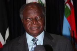 Kibaki is aimng for a second and final five-yearly term as Kenya's president [EPA]