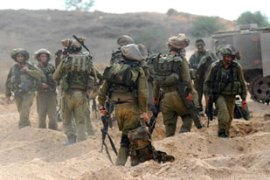 The Israeli military said it had carried out operations around Beit Hanoun and Khan Yunis [AFP]