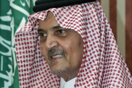 Prince Saud al-Faisal said he hoped the US and Iran would support the planned consortium