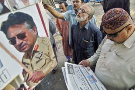 The Pakistani press on Sunday was highly critical of Musharraf's decision to impose emergency [AFP]