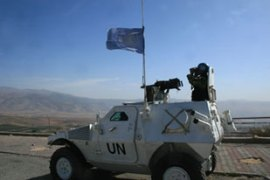 UN peacekeepers are instructed to disarm any Hezbollah fighters in southern Lebanon [AFP]