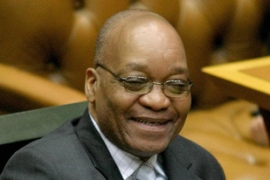 Zuma says the corruption charges against himare a political conspiracy [AP]