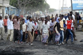 Somalis have protested against the violence [Reuters]