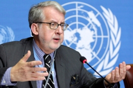 Pinheiro's report will be presented to the UN Human Rights Council next week [EPA]