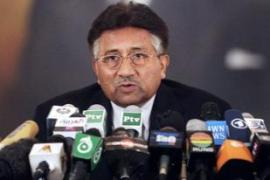Musharraf says his quitting as president would lead the country to chaos [AFP]
