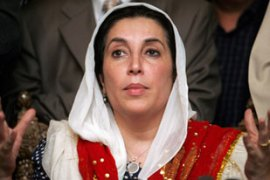 Bhutto's death provoked condemnation fromher supporters and rivals alike [AFP]