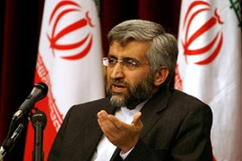 Jalili said a third round of sanctions would jeopardise co-operation with the IAEA [AFP]