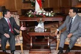 King Abdullah and Mubarak held talks at the Egyptian resort of Sharm el-Sheikh on Thursday [AFP]