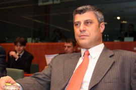 Hashim Thaci says Kosovo is ready for independence after eight years under UN administration [AFP]