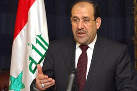 Al-Maliki wants the UN mandate for US-led forces in Iraq to end next year [AFP]