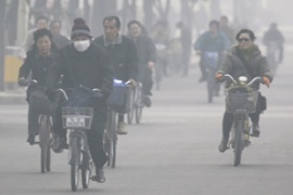 China's booming economy is also making it one of the world's biggest polluters [Reuters]
