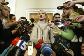 Tymoshenko, above, is set to return as Ukraine's prime minister  [Reuters]